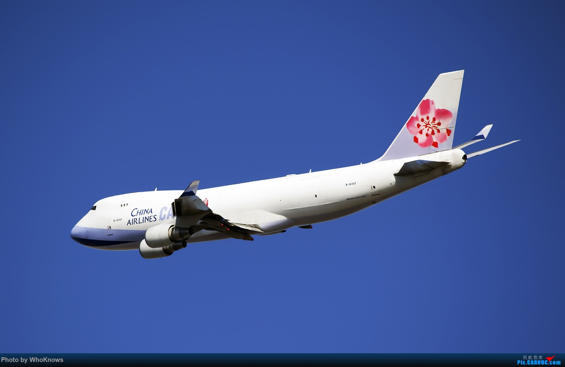 JFK BOEING 747 B-18707 JFK