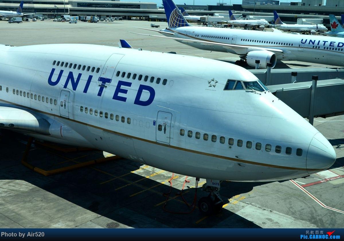Re:[原创]【2017美西之旅】美联航UA8/9 B787-8 成都-旧金山-成都 CTU-SFO—CTU 领略多彩的美西风光 多图欢迎观看! B747-400  SFO
