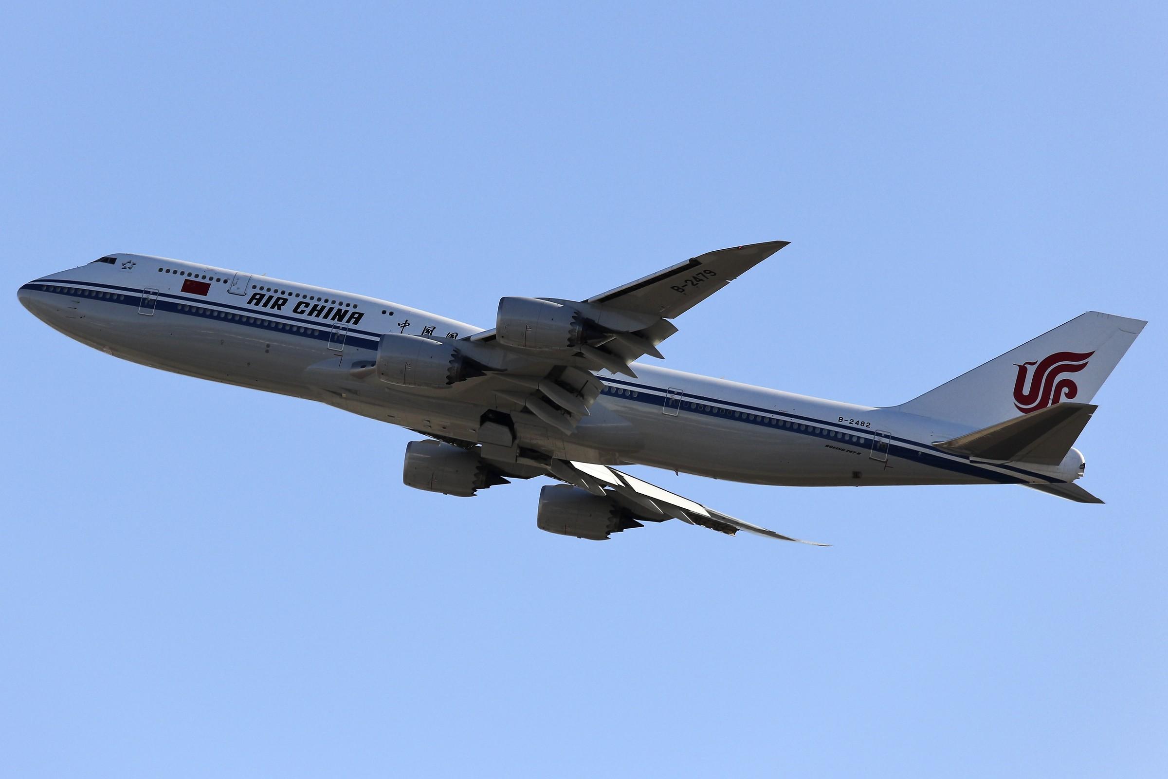 Re:【TSN飞友会】 November 深秋~ BOEING 747-8I B-2482 中国天津滨海国际机场
