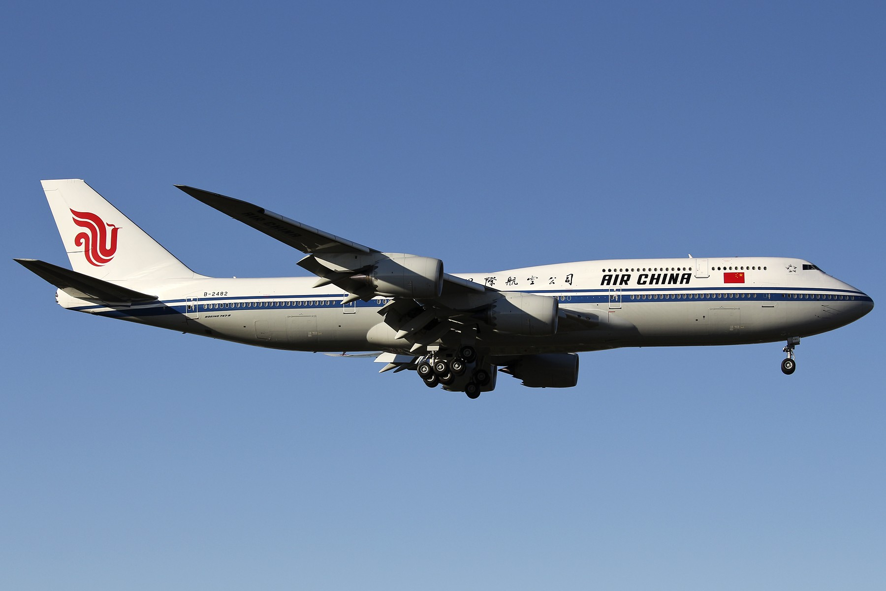 Re:[原创]【TSN飞友会】 November 深秋~ BOEING 747-8I B-2482 中国天津滨海国际机场