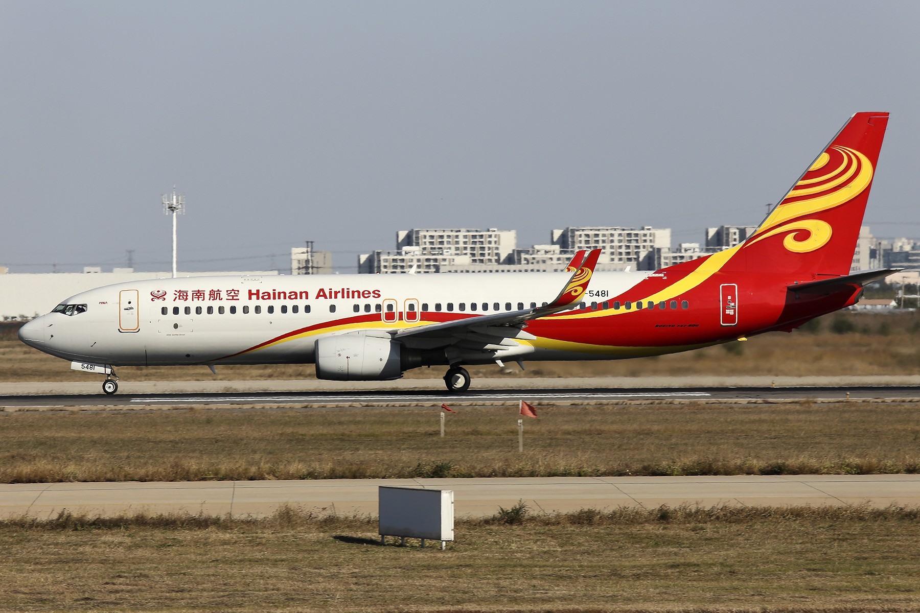 Re:[原创]【TSN飞友会】 November 深秋~ BOEING 737-800 B-5481 中国天津滨海国际机场