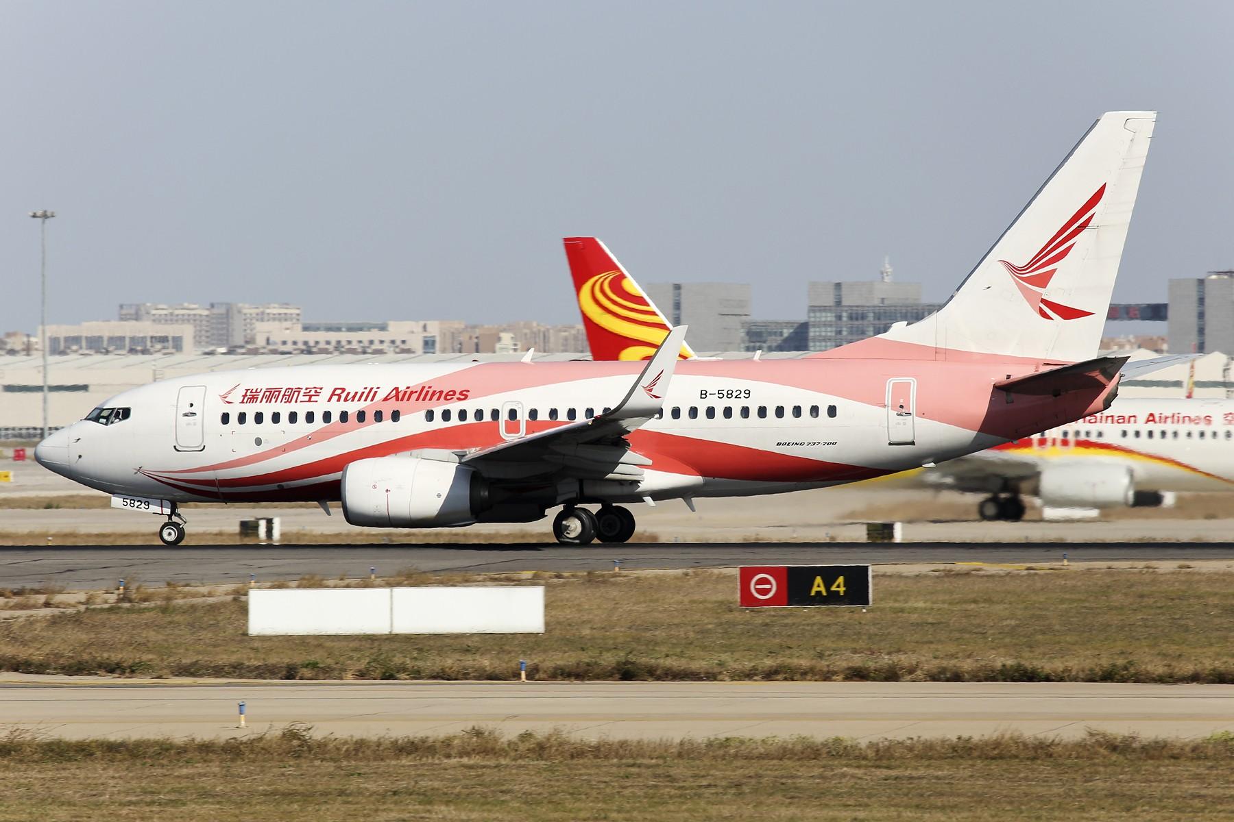 Re:[原创]【TSN飞友会】 November 深秋~ BOEING 737-700 B-5829 中国天津滨海国际机场