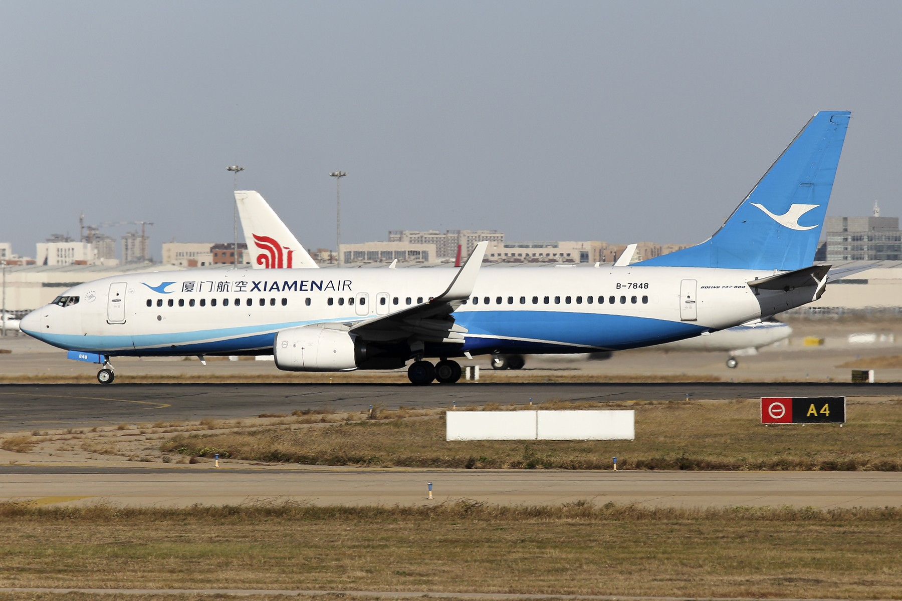 Re:[原创]【TSN飞友会】 November 深秋~ BOEING 737-800 B-7848 中国天津滨海国际机场