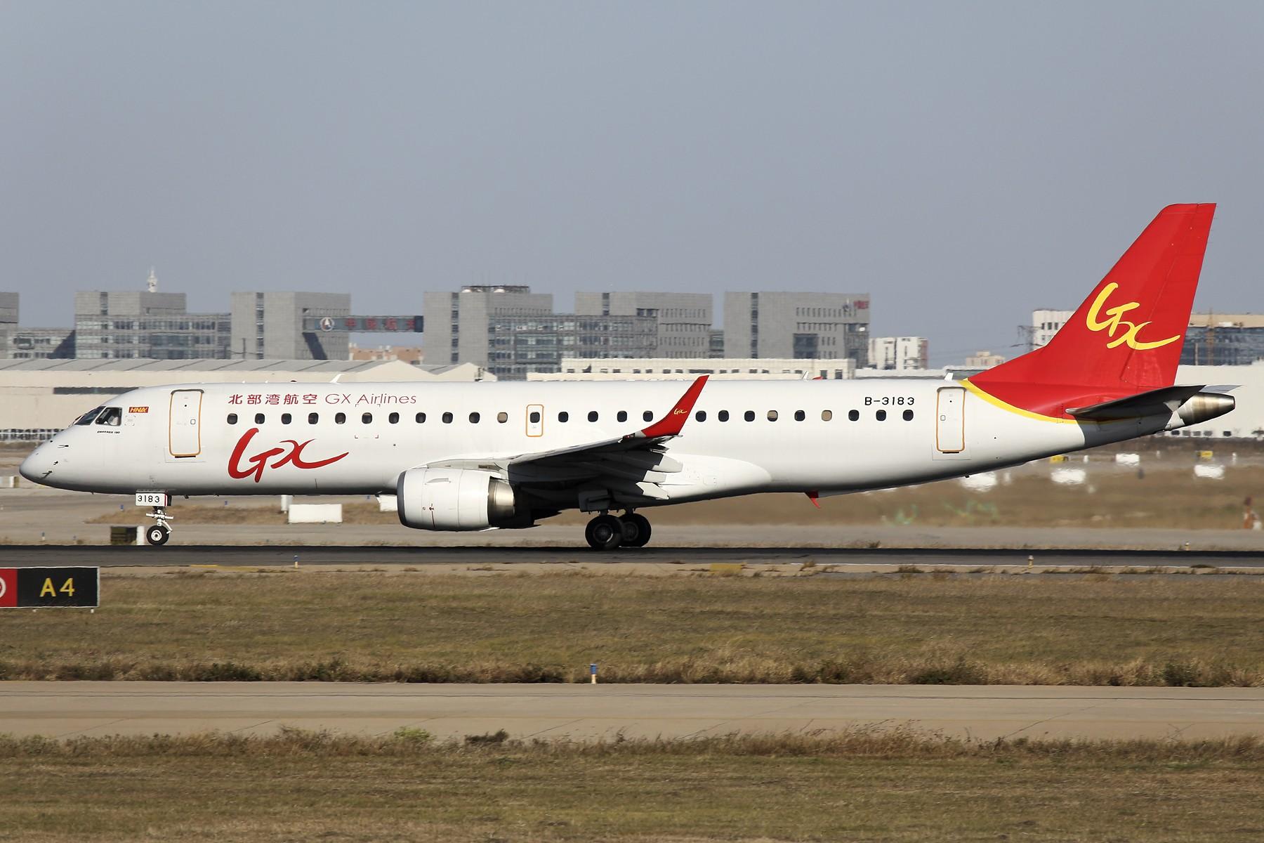 Re:[原创]【TSN飞友会】 November 深秋~ EMBRAER E-190 B-3183 中国天津滨海国际机场