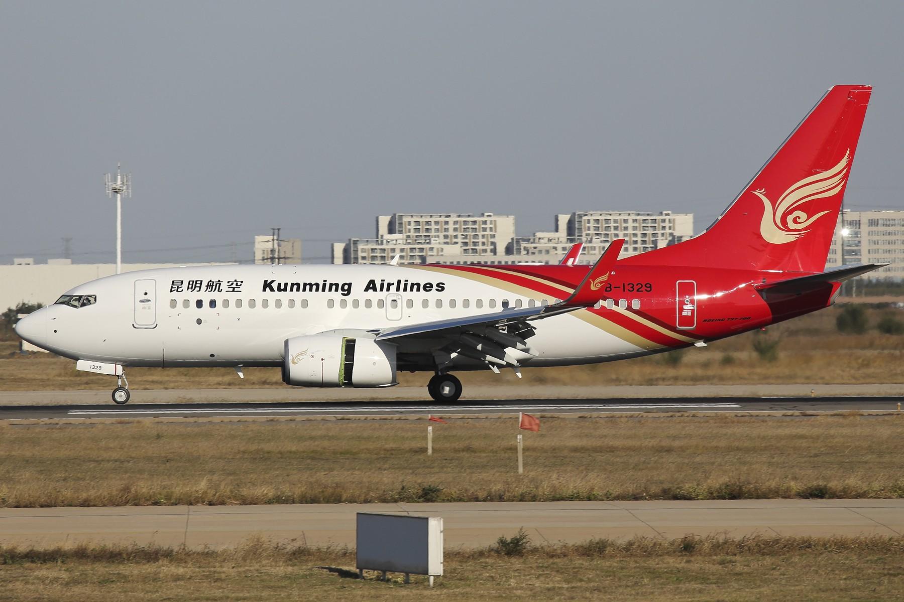 Re:[原创]【TSN飞友会】 November 深秋~ BOEING 737-700 B-1329 中国天津滨海国际机场