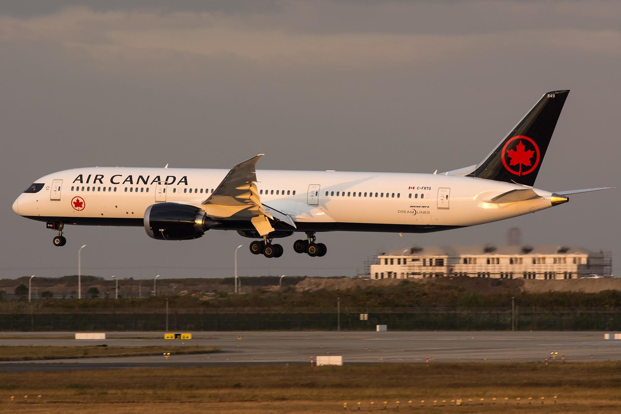 Re:[原创]【PVG】加航新装2只 BOEING 787-9 C-FRTG 中国上海浦东国际机场