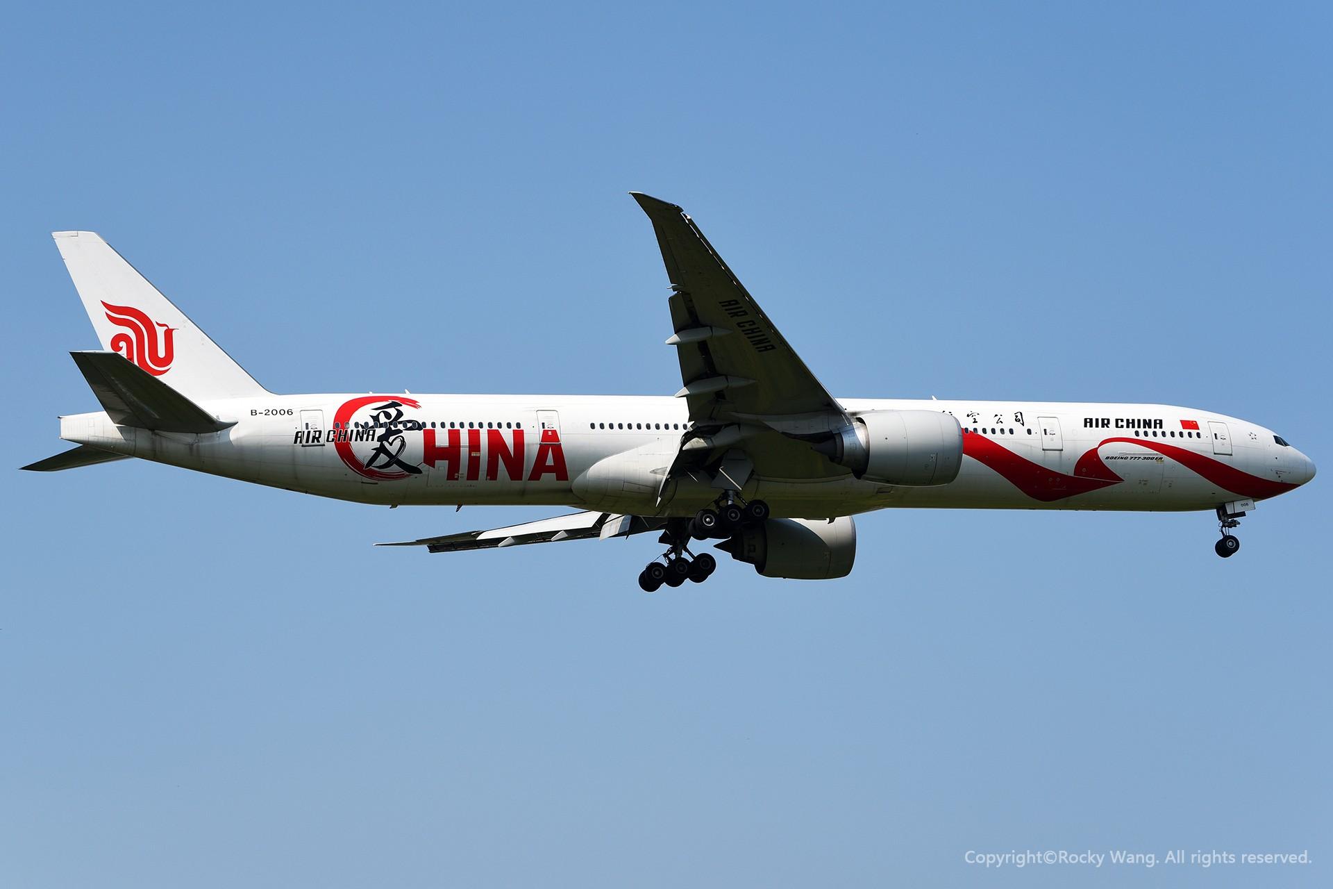 [原创]家 BOEING 777-300ER B-2006 加拿大蒙特利尔特鲁多机场