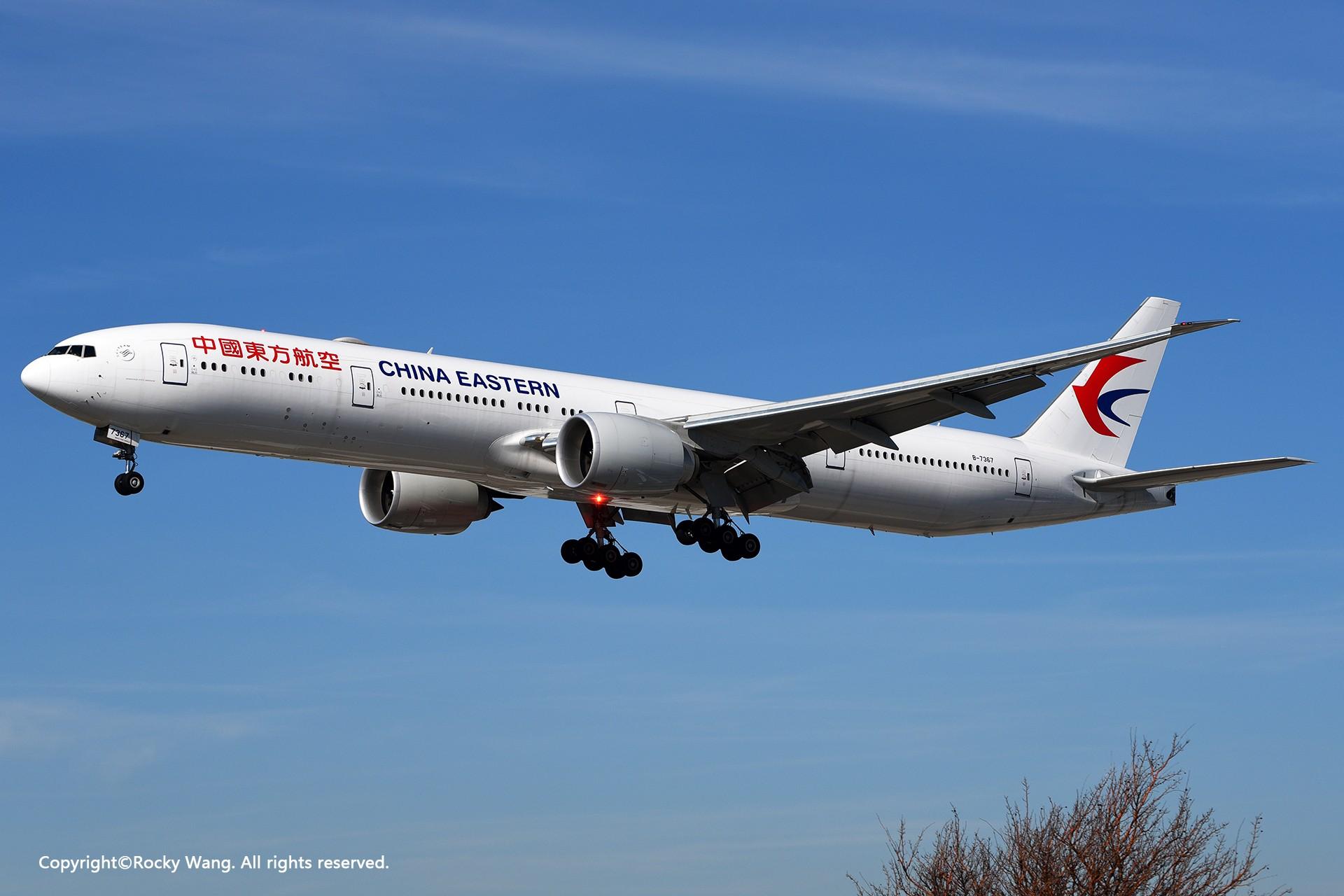 Re:家 BOEING 777-300ER B-7367 加拿大多伦多皮尔逊机场