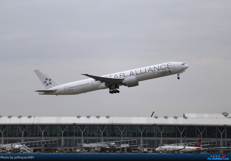 Re:[PVG]所谓星空联盟强力压制寰宇一家 BOEING 777-300ER 9V-SWJ 中国上海浦东国际机场