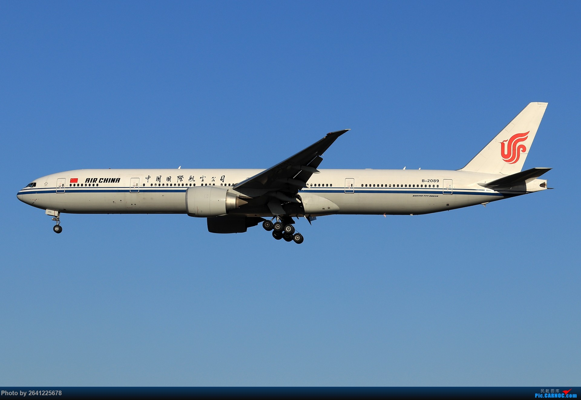 [原创]【ZBAA】随意(包含美联77W,788,加航789等) BOEING 777-300ER B-2089 中国北京首都国际机场