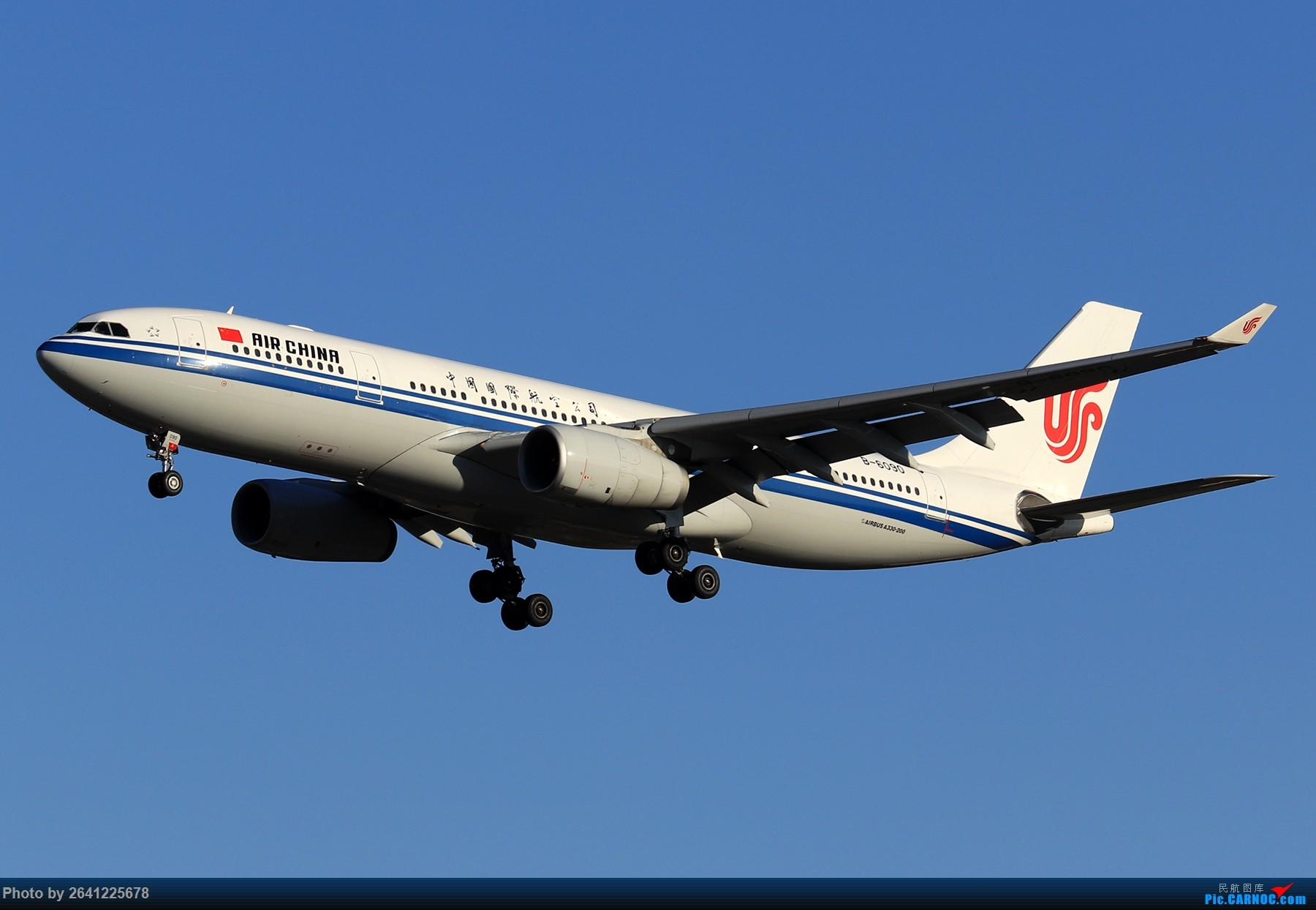 Re:[原创]【ZBAA】随意 AIRBUS A330-200 B-6090 中国北京首都国际机场