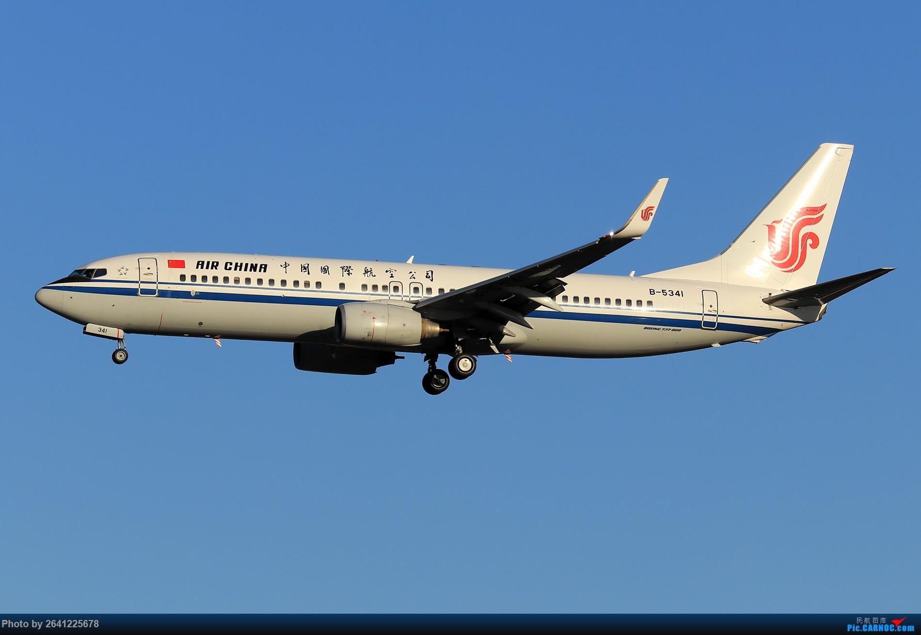 Re:[原创]【ZBAA】随意 BOEING 737-800 B-5341 中国北京首都国际机场