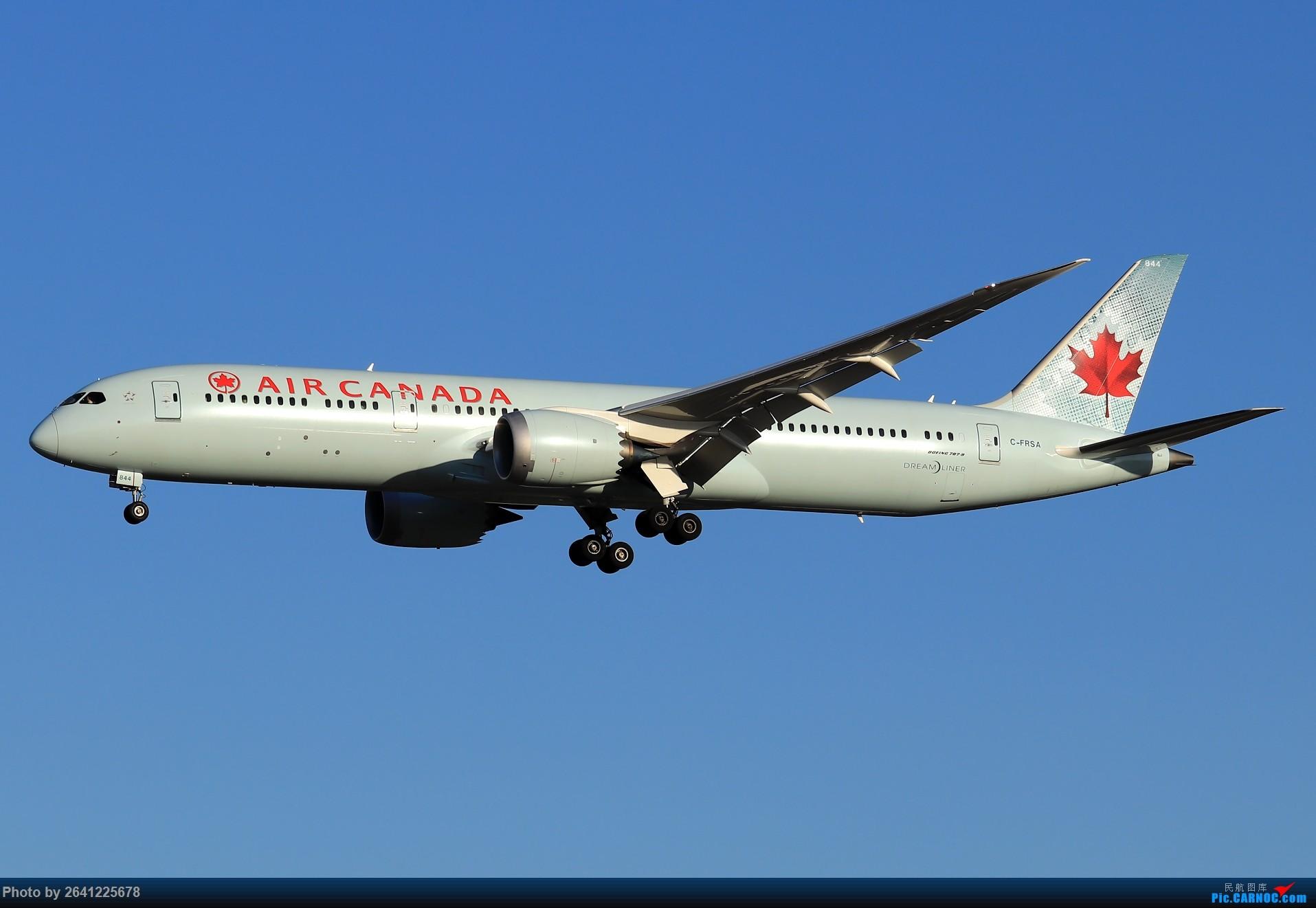 Re:[原创]【ZBAA】随意 BOEING 787-9 C-FRSA 中国北京首都国际机场
