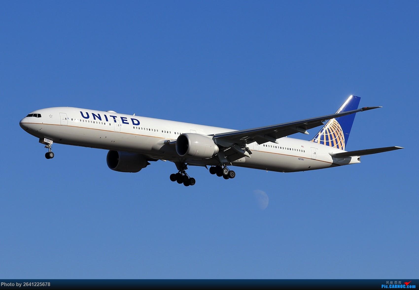 Re:【ZBAA】随意 BOEING 777-300ER N2136U 中国北京首都国际机场
