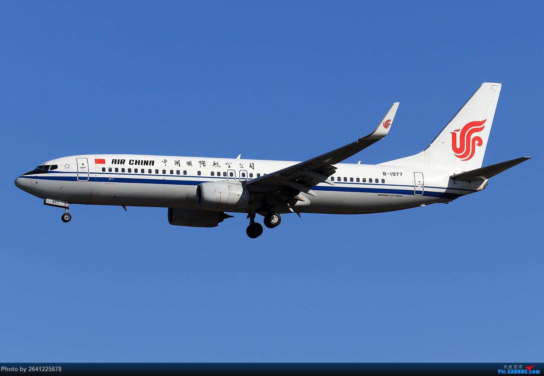 Re:[原创]【ZBAA】随意 BOEING 737-800 B-1977 中国北京首都国际机场