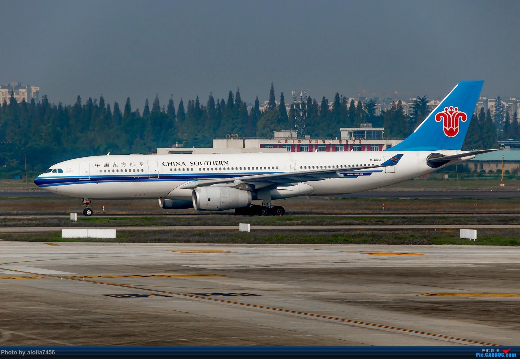 Re:[原创]【霸都打机队】出差CTU,成都你好,然而有点水汽有点水泥,解决有无~! AIRBUS A330-200 B-6058 中国成都双流国际机场
