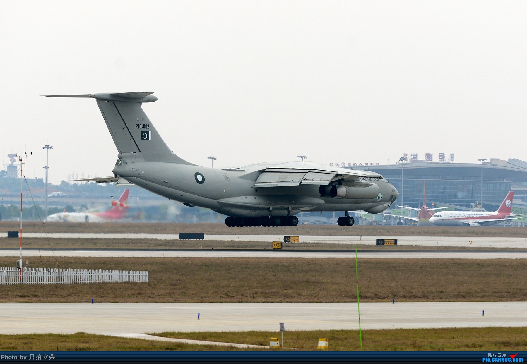 中国�9.��f��i)�il�)~K�_ilyushin il-78 中国长沙黄花国际机场
