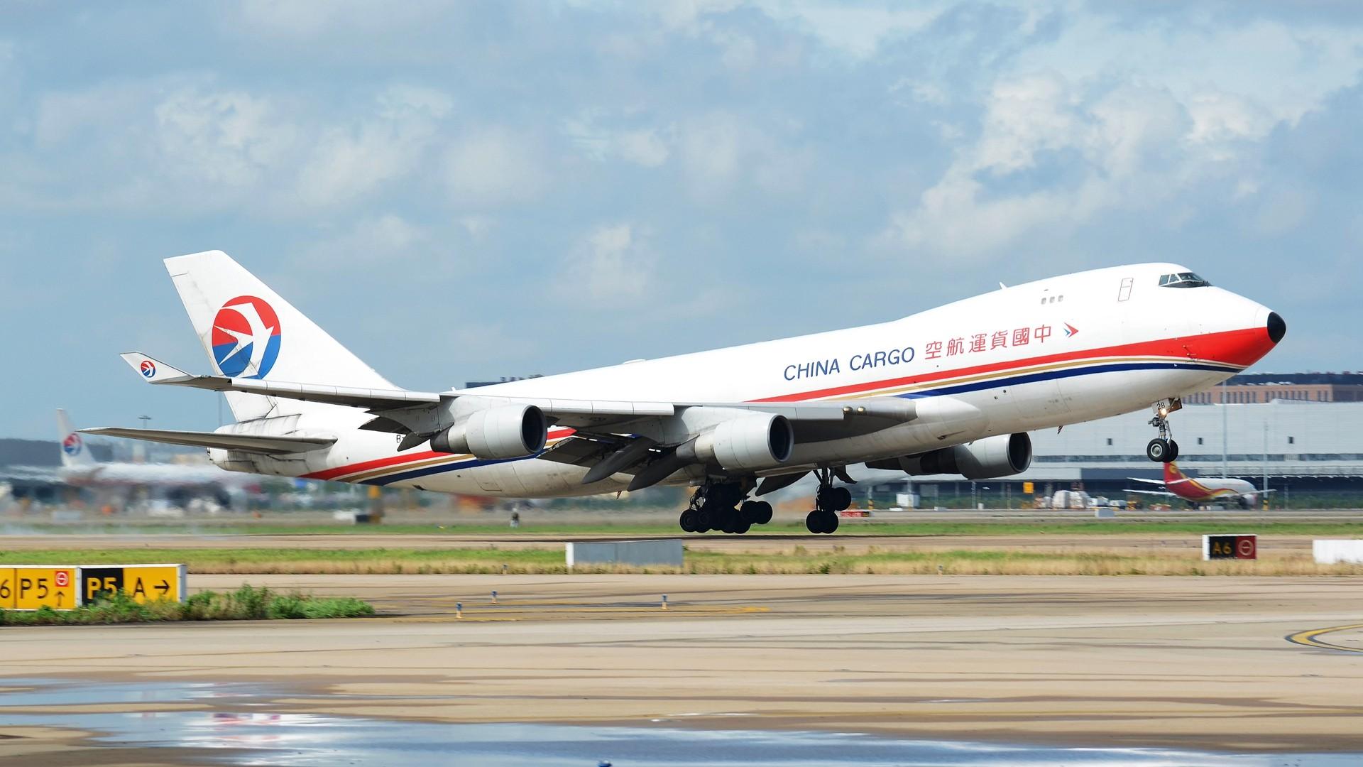 [原创](1920*1080)放出一组壁纸 BOEING 747-400 B-2428 上海浦东国际机场
