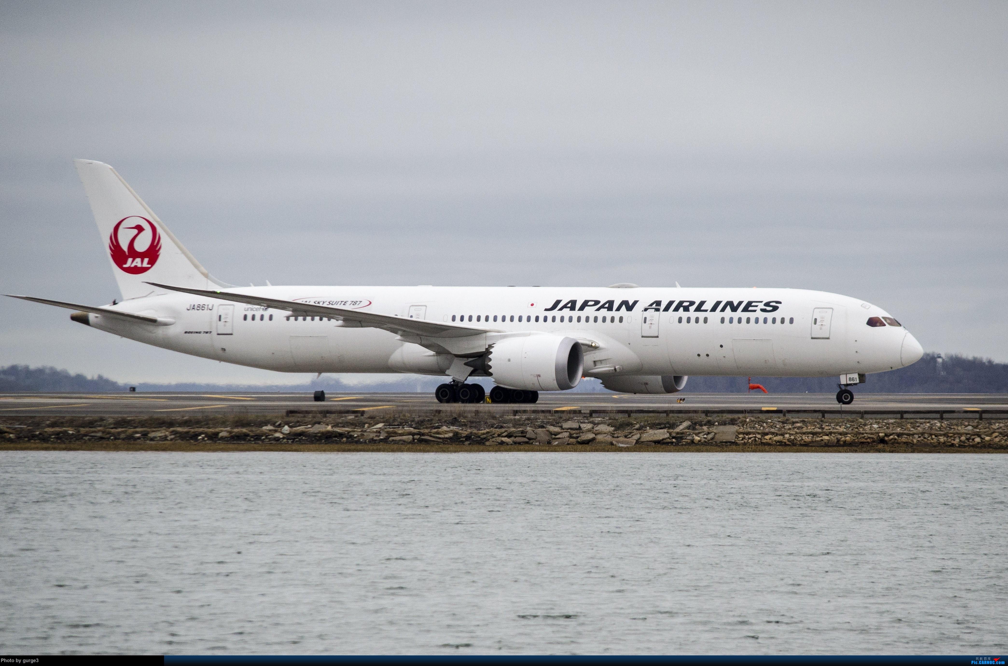 Re:波士顿机场拍机---国内罕见机型 BOEING 787-9 JA861J BOSTON