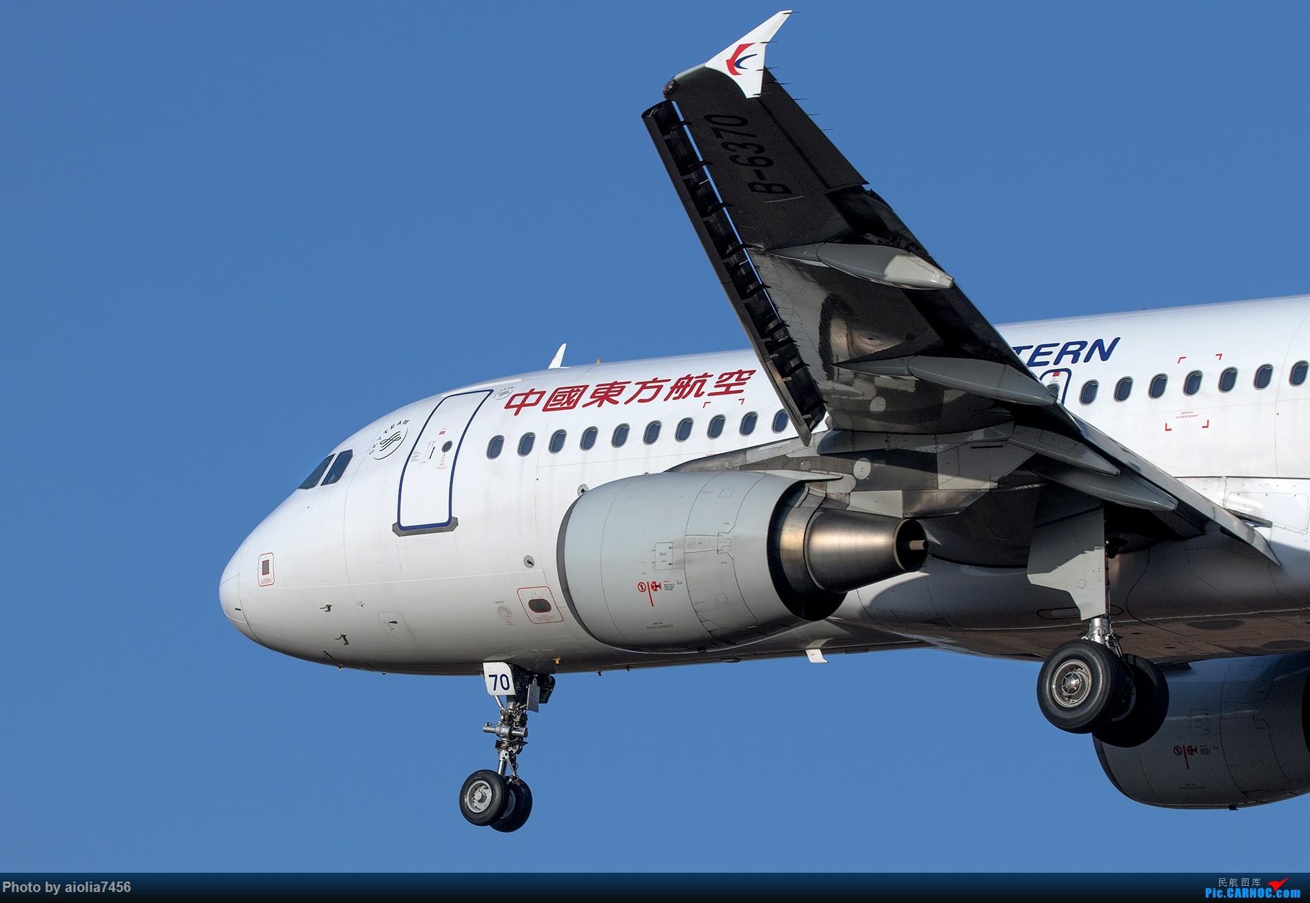 Re:[原创][霸都打鸡队]秋过长空碧如洗,谁道我桥无蓝天? AIRBUS A320-200 B-6370 中国合肥新桥国际机场