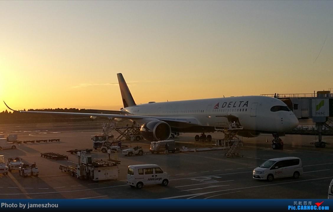 [原创]成田机场活捉大妹359一枚 A359 N502DN 日本东京成田机场