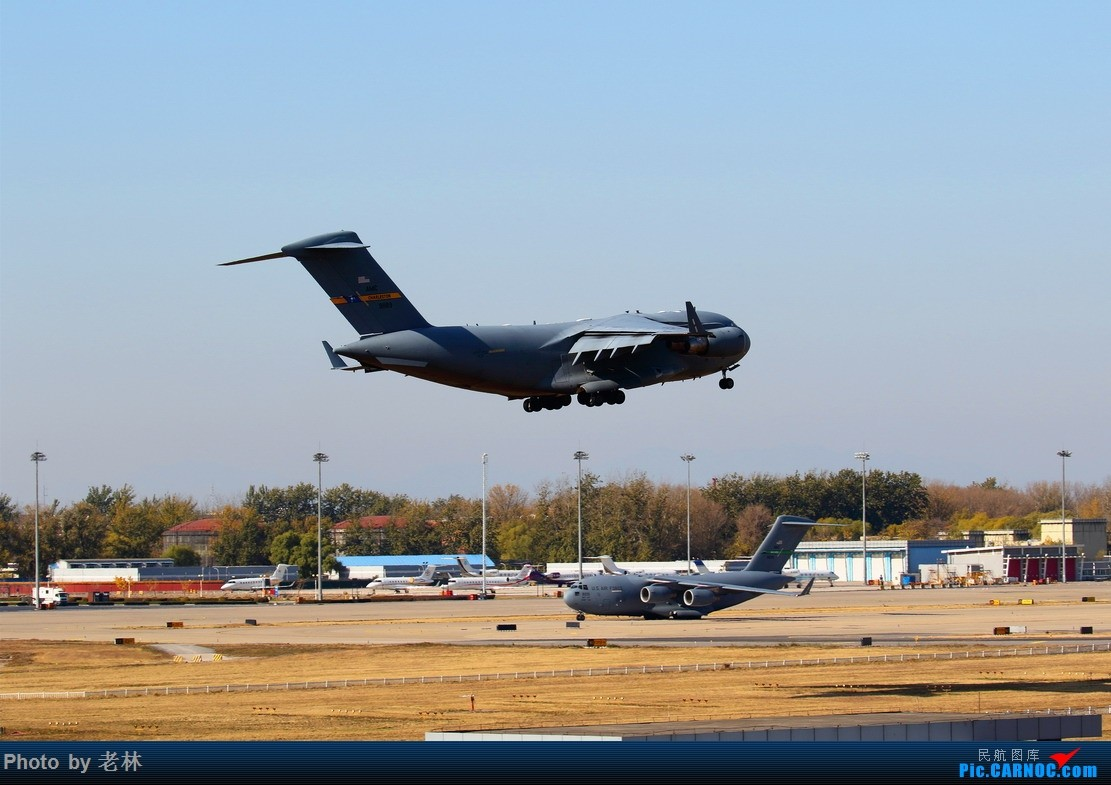 [原创]2017 11 10 ZBAA 36R USA AIR FORCE C17 C17  PEK