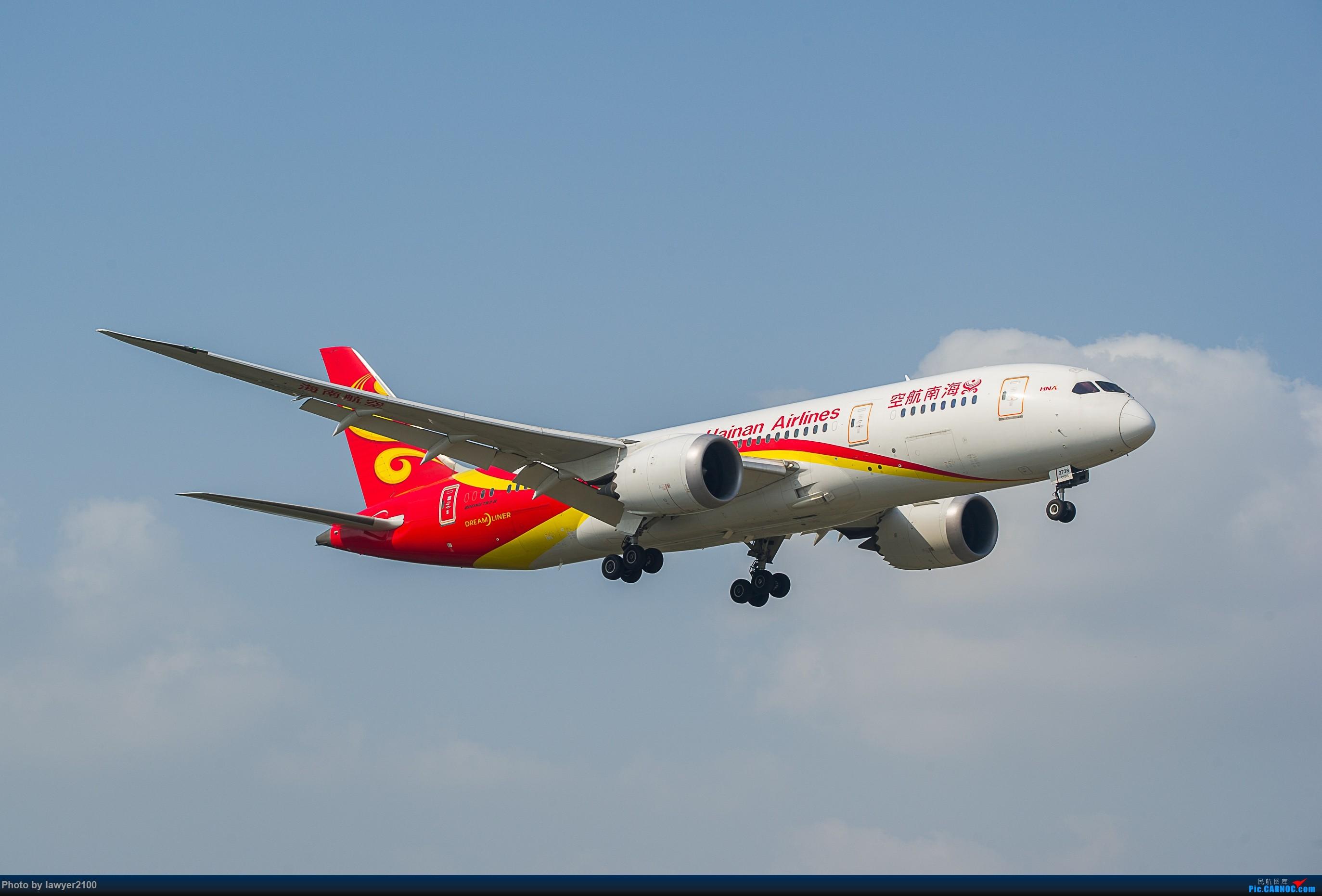 [原创]HGH——海航787组图 BOEING 787-8 B-2739 中国杭州萧山国际机场