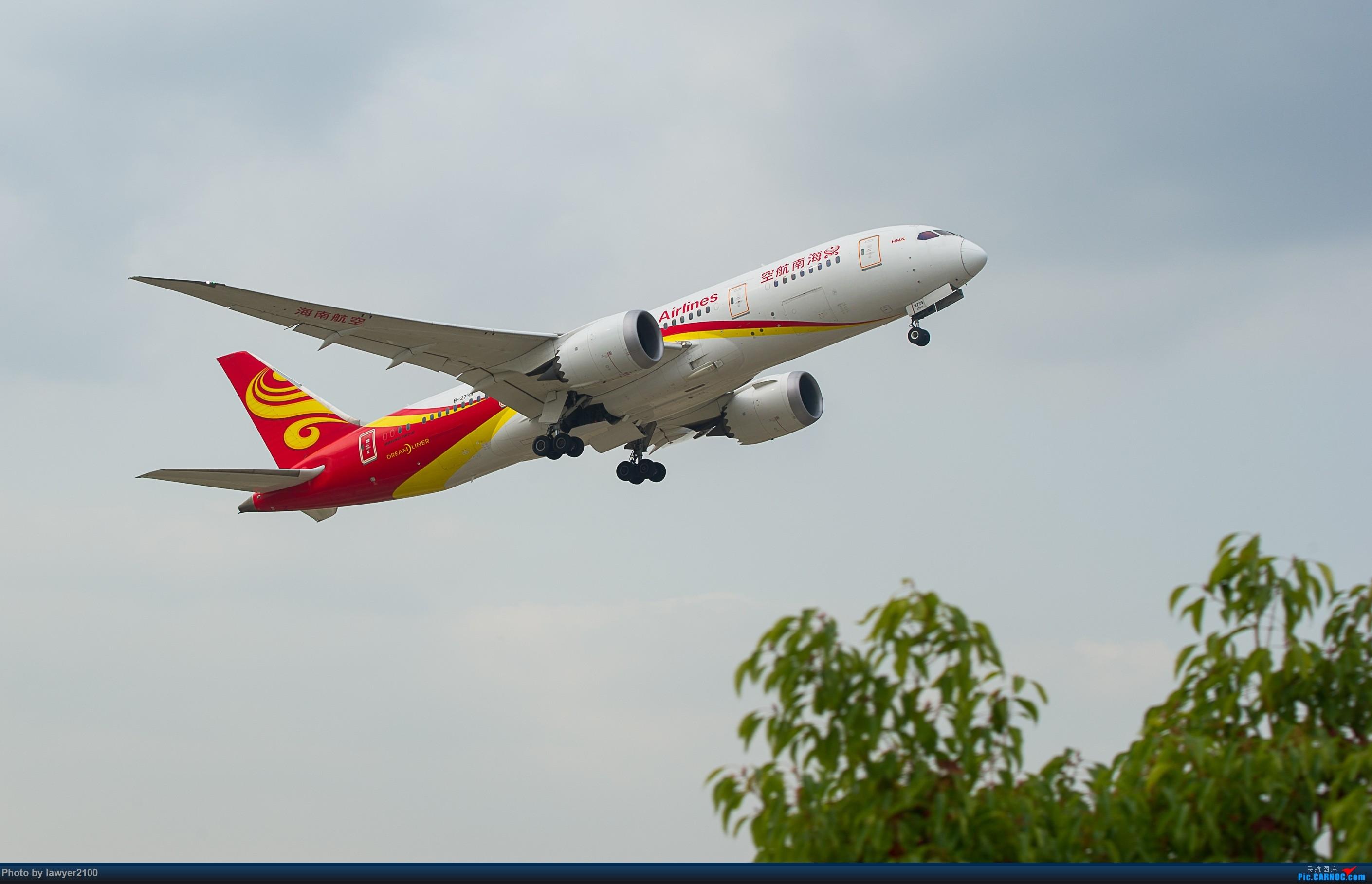 Re:[原创]HGH——海航787组图 BOEING 787-8 B-2739 中国杭州萧山国际机场