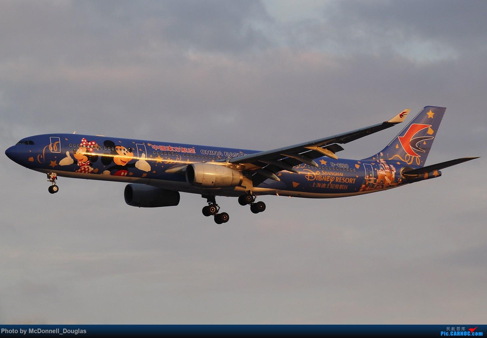 [原创]【上海飞友会】夕阳下的6120,也算是做一个小小的送别了吧 AIRBUS A330-343 B-6120 中国上海虹桥国际机场