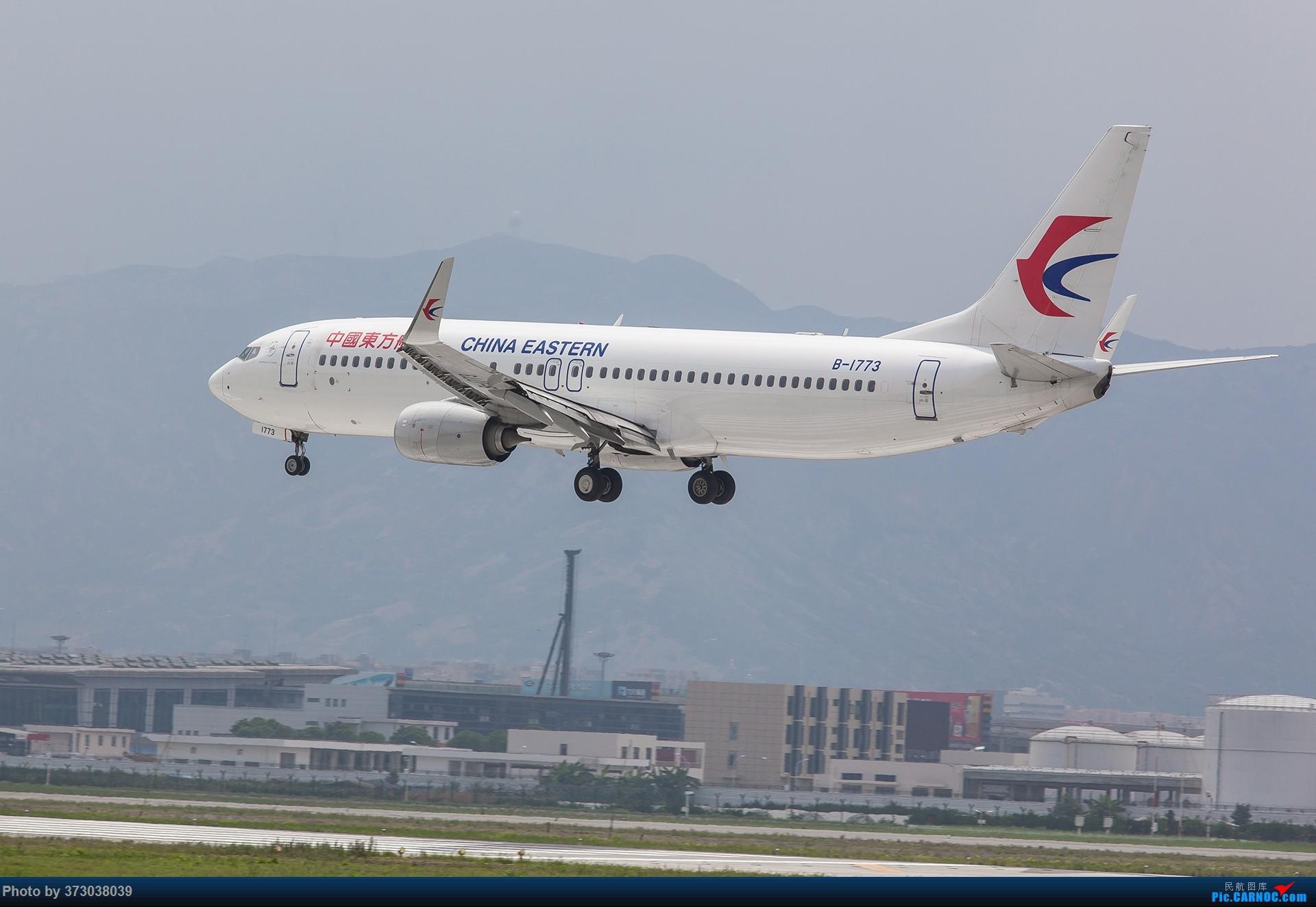 Re:[原创]【杭州飞友会】久别重逢,自个家乡的温州龙湾国际机场 BOEING 737-800 B-1773 中国温州龙湾国际机场