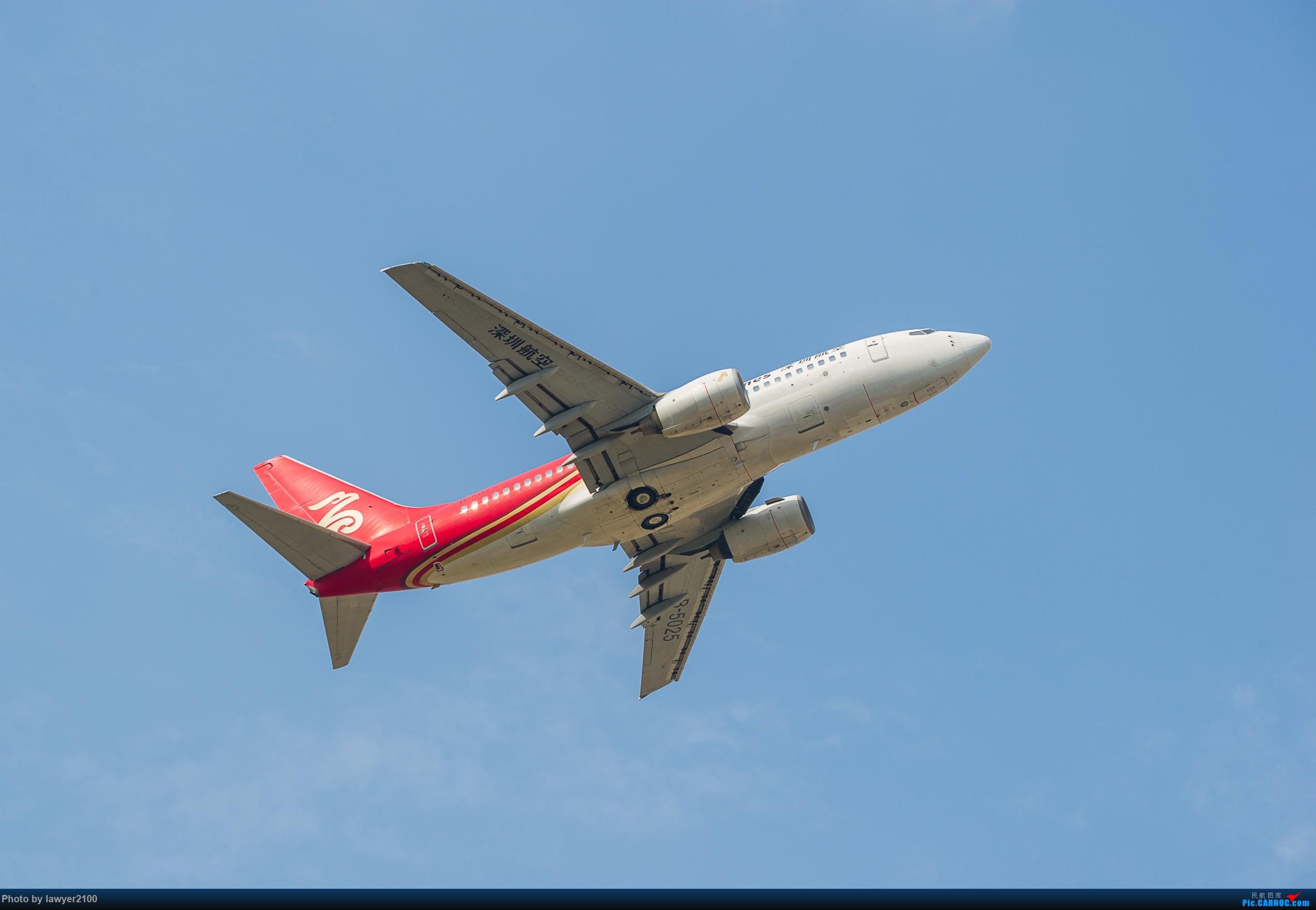 [原创]HGH——一飞冲天 BOEING 737-700 B-5025 中国杭州萧山国际机场