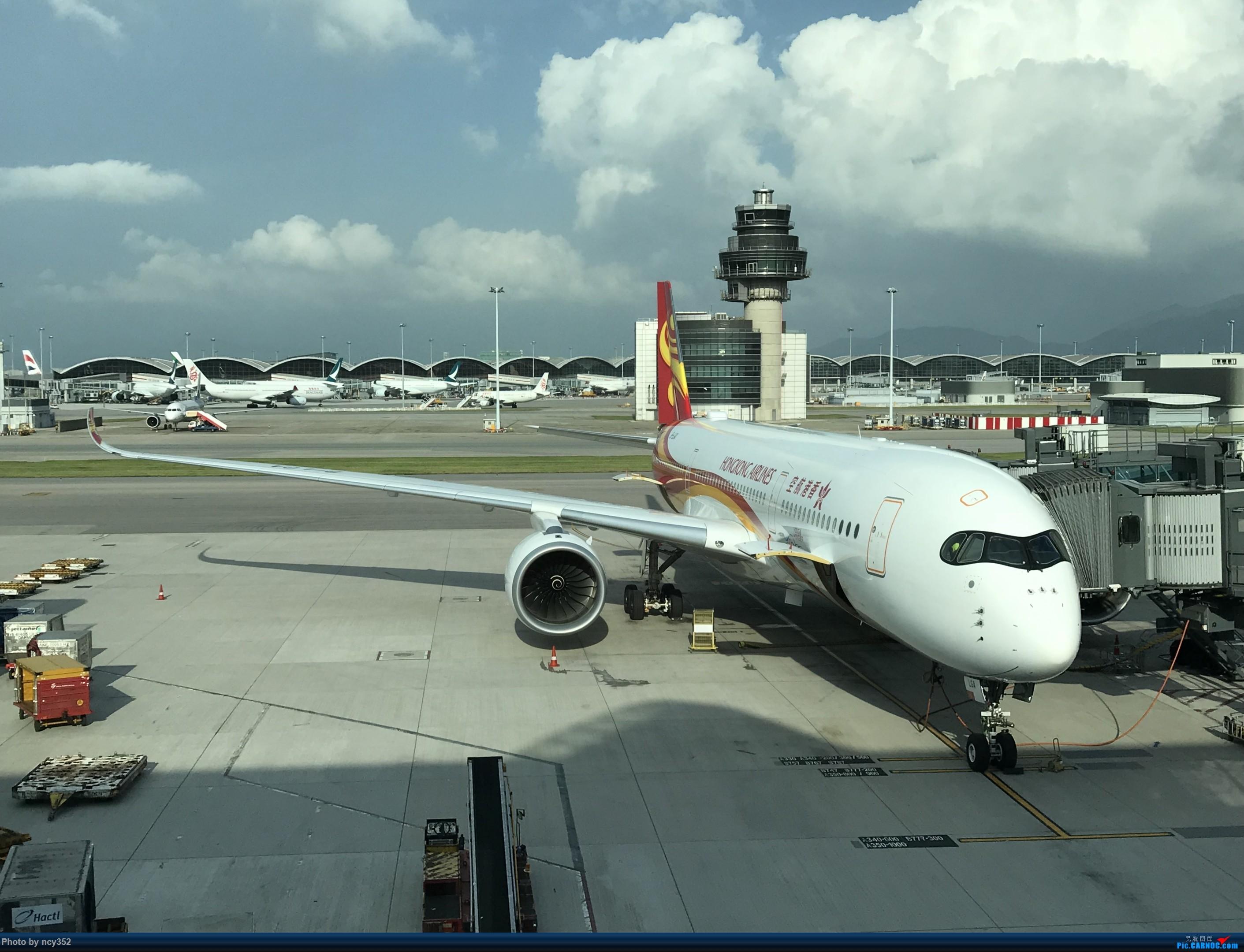 [原创]20171001 HKG-CTU AIRBUS A350-900 B-LGA 中国香港国际机场