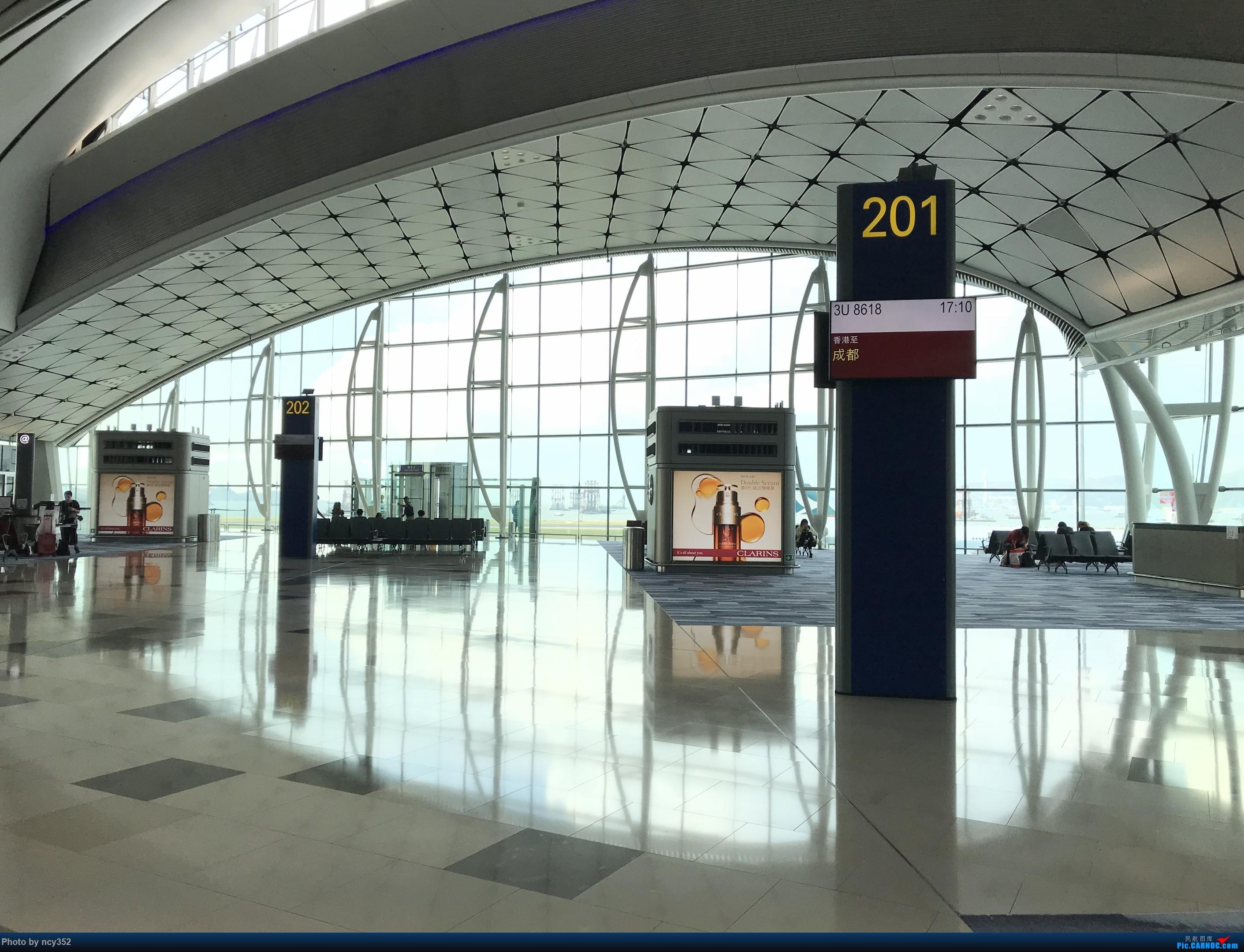 Re:[原创]20171001 HKG-CTU    中国香港国际机场