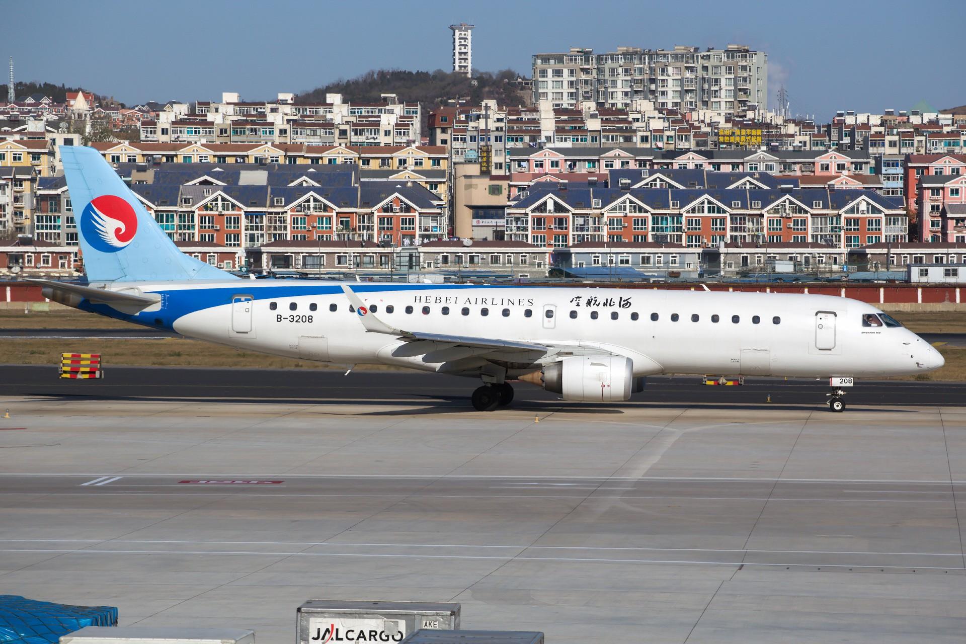 Re:[原创][DLC]。。。 杂图。。。 EMBRAER E-190 B-3208 中国大连国际机场