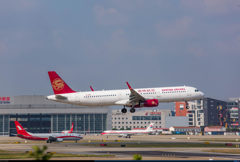 [原创][上海虹桥]虹桥拍机,B-2447、B-3386、上航767等 AIRBUS A321-200 B-1005 中国上海虹桥国际机场