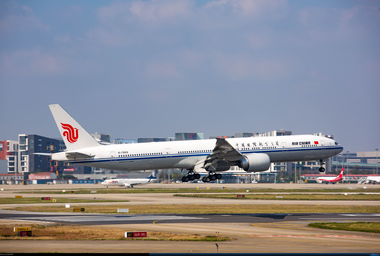 Re:[SHA]虹桥拍机,B-2447、上航767等 BOEING 777-300ER B-7869 中国上海虹桥国际机场