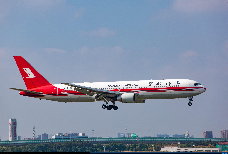 Re:[原创][SHA]虹桥拍机,B-2447、上航767等 BOEING 767-36D B-2498 中国上海虹桥国际机场