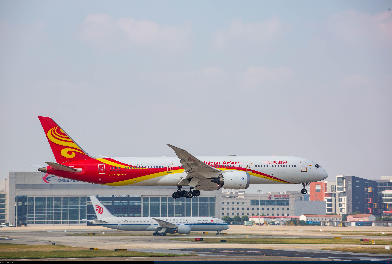 Re:[原创][上海虹桥]虹桥拍机,B-2447、B-3386、上航767等 BOEING 787-9 B-7837 中国上海虹桥国际机场
