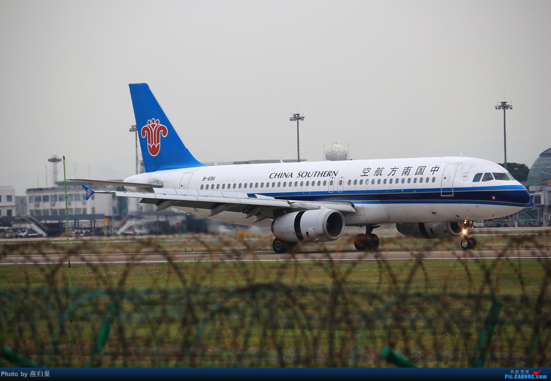 Re:【宁波飞友会】水泥天·NGB AIRBUS A320-200 B-6911 中国宁波栎社国际机场