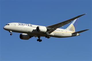 美联航787,N28912靓图。