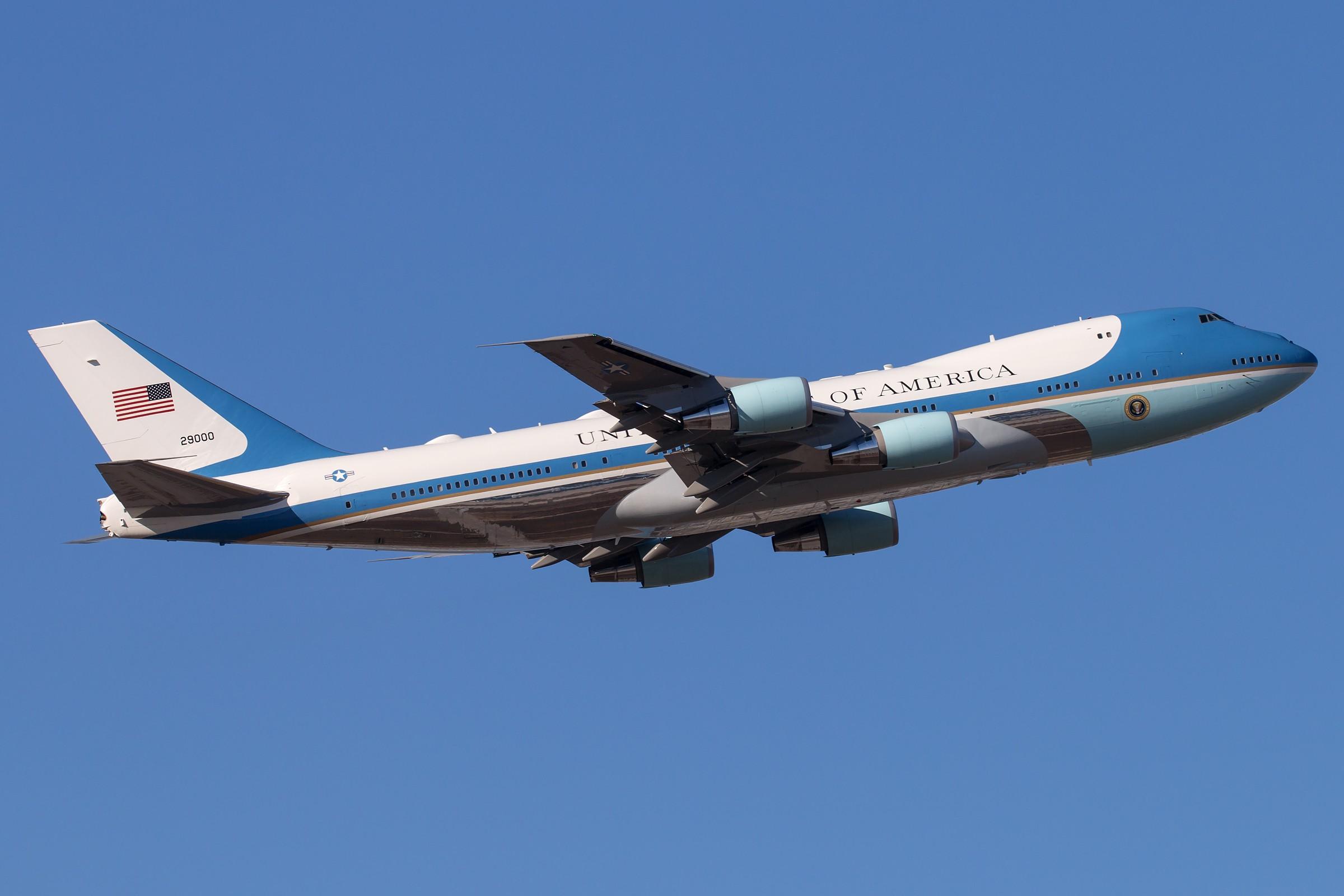 Re:[原创]82-8000、92-9000 BOEING 747-2G4B (VC-25A) 92-9000 中国北京首都国际机场