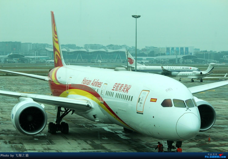Re:[原创]飞翔之猫游记(你好深圳) BOEING 787-9  重庆江北国际机场