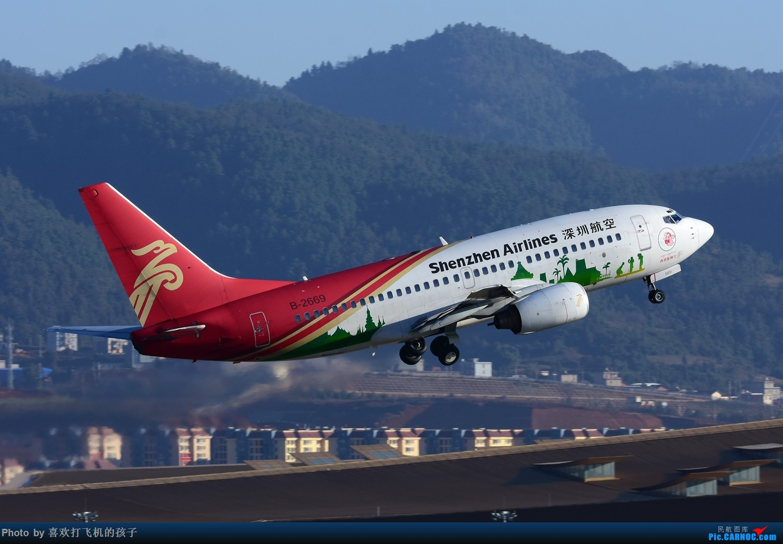 Re:[原创]【机机的飞飞】双十一和基友去KMG打机 BOEING 737-700 B-2669 中国昆明长水国际机场