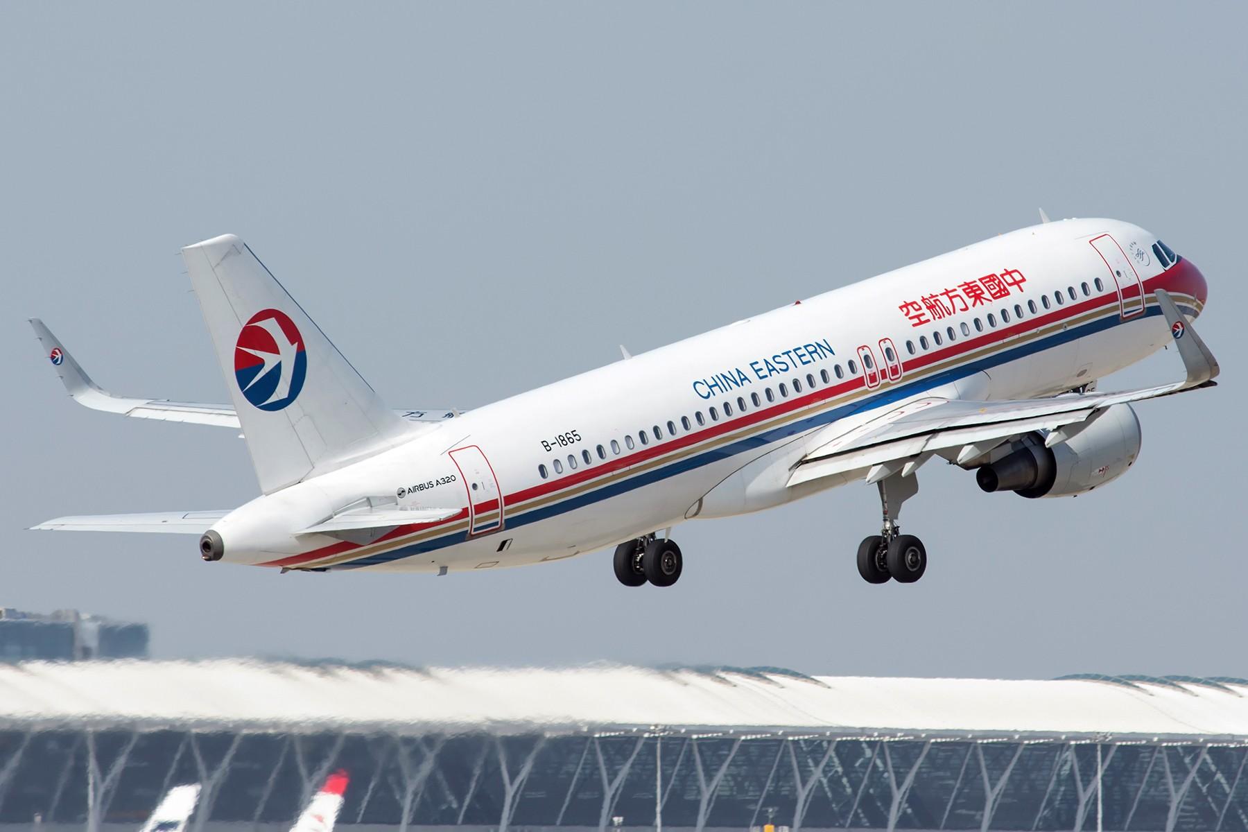 Re:[原创][PVG] 新老涂装不同小翼的东航320 AIRBUS A320-200 B-1865 中国上海浦东国际机场