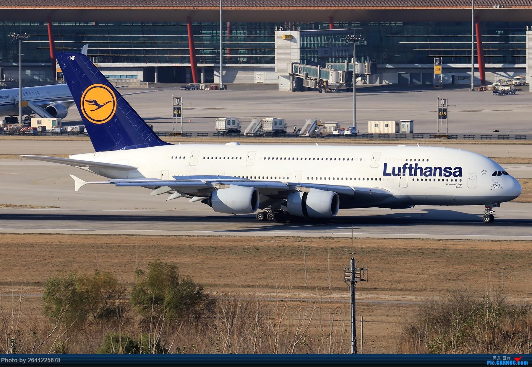Re:[原创]【Pek】开阔 AIRBUS A380 D-AIMF 中国北京首都国际机场