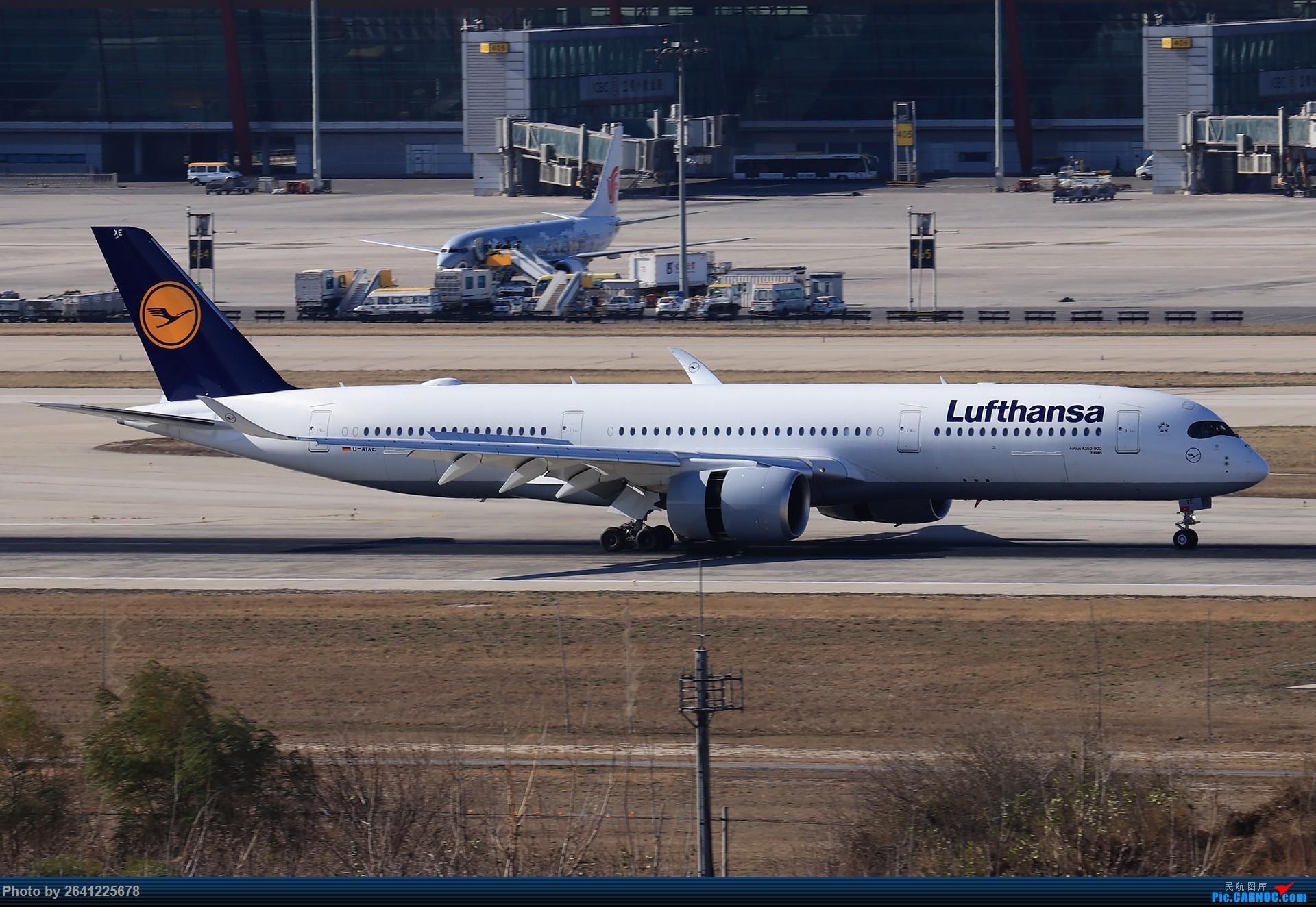 Re:[原创]【Pek】开阔 AIRBUS A350-900 D-AIXE 中国北京首都国际机场