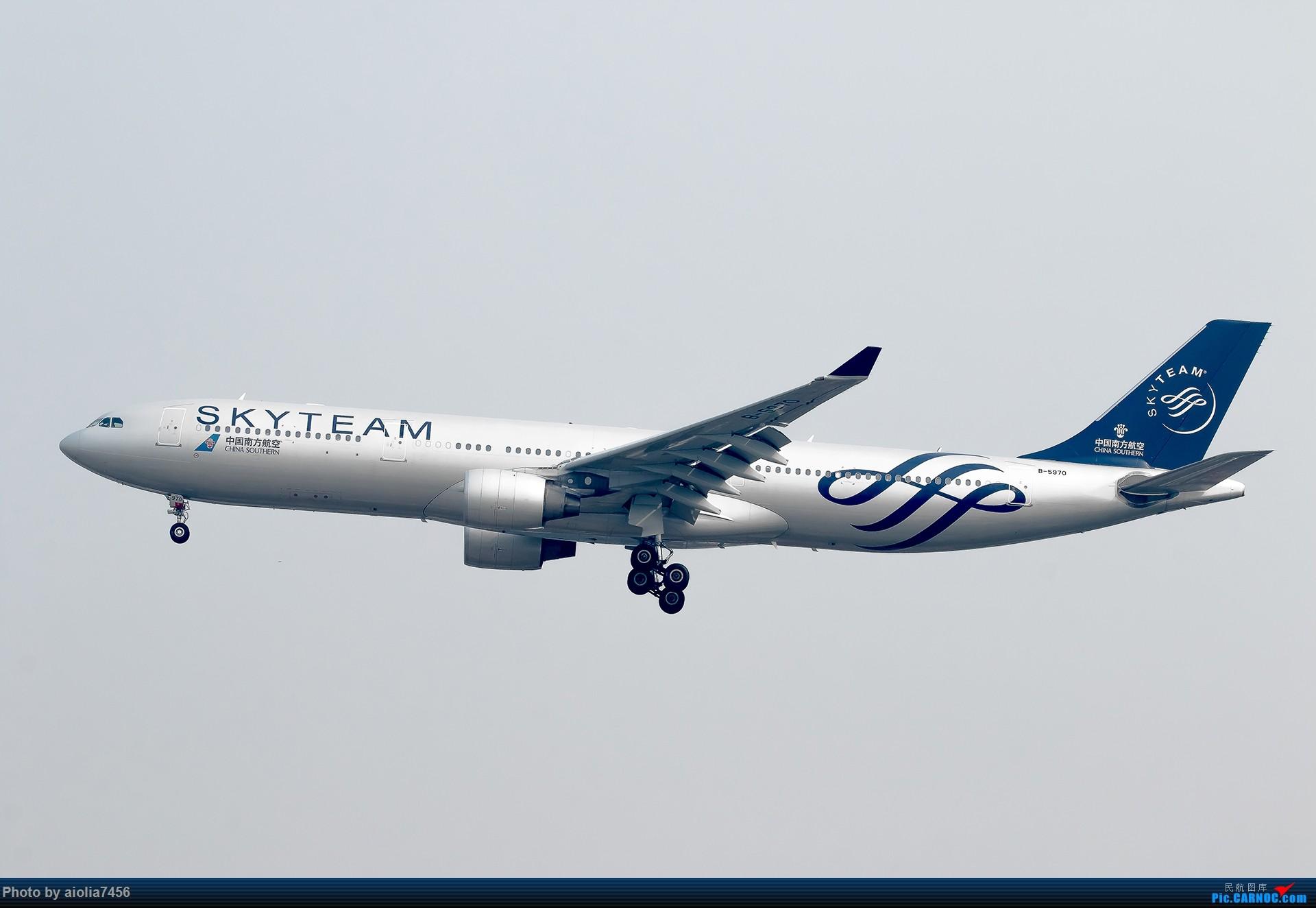 Re:[原创][霸都打机队]摸摸怀中的7D2,好宝宝,跟了新的主人你要乖乖听话哦,离开我之前,我带你逛一圈ZSSS,最后一次陪我看看那些我们不怎么看得到的宽体吧。 AIRBUS A330-300 B-5970 中国上海虹桥国际机场