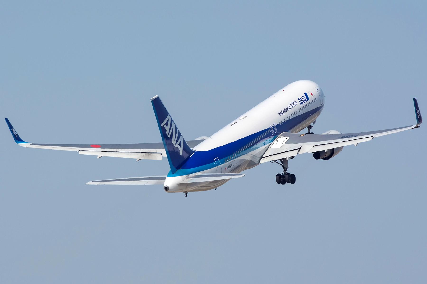 Re:[原创]【PVG】两图~安娜767强势起飞 BOEING 767-300 JA622A 中国上海浦东国际机场