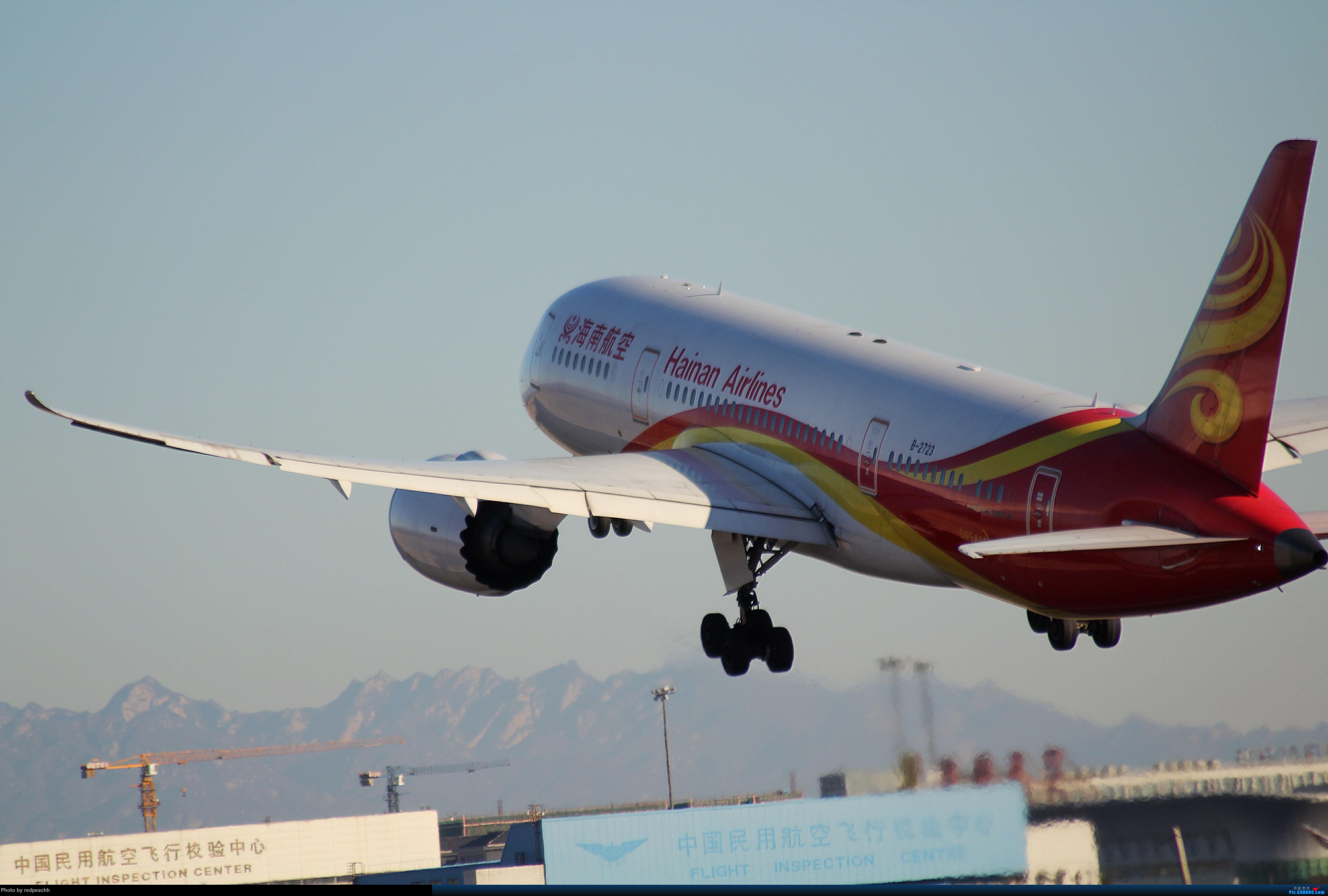 [原创](完毕)河北人为拍机而首都机场2日游虽均为常规货但值得纪念 BOEING 787-8  36L