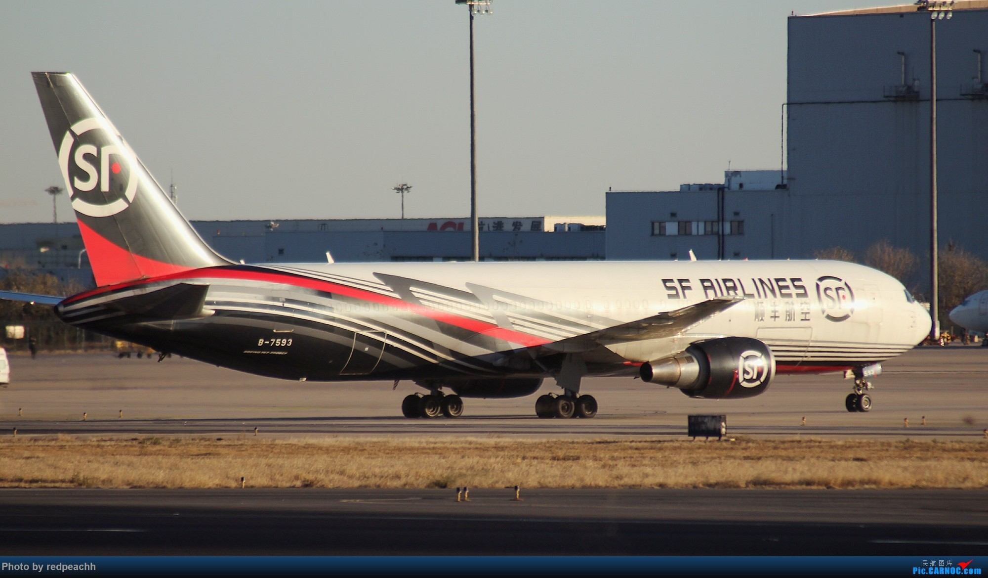 Re:[原创]河北人为拍机而首都机场2日游虽常规但值得纪念(36L) BOEING 767-300ER B-7593 中国北京首都国际机场